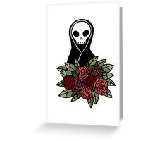 Reaper Bouquet ~ Red Greeting Card