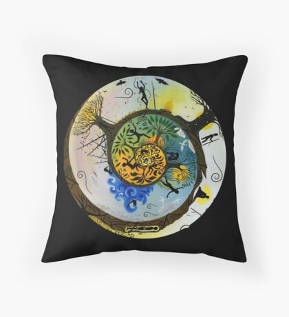 Our Journey Throw Pillow