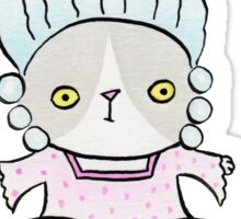 Marie Antoincatty Sticker