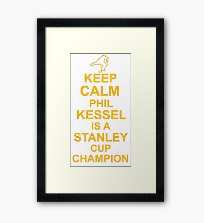 Phil Kessel Stanley Cup Champion Framed Print