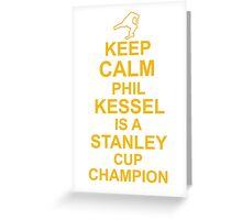 Phil Kessel Stanley Cup Champion Greeting Card