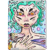 creepy mermaid iPad Case/Skin