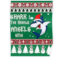 Shark The Herald Angels Sing Poster