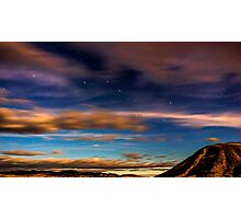 Moonlight over Painted Hills 2 Photographic Print