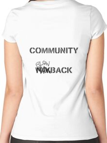 Misfits - Community Blowback Women's Fitted Scoop T-Shirt