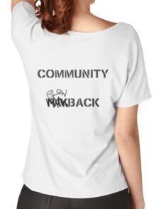 Misfits - Community Blowback Women's Relaxed Fit T-Shirt
