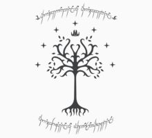 White tree of Gondor by Shemeck Swiderski