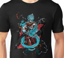 dragon ball super saiyan goku god Unisex T-Shirt