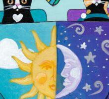 Sunny & Luna Go For A Drive Sticker