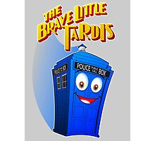 Brave Little Tardis Photographic Print