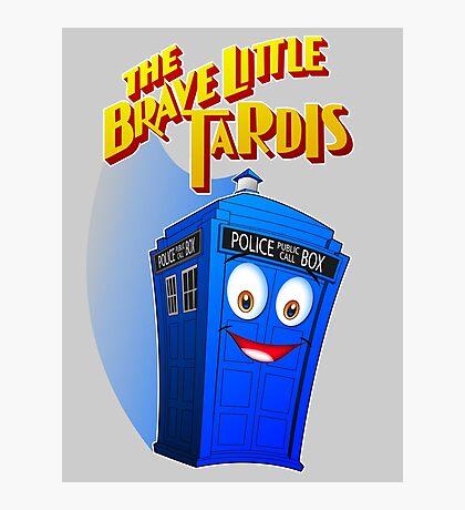 Brave Little Tardis Photographic Print