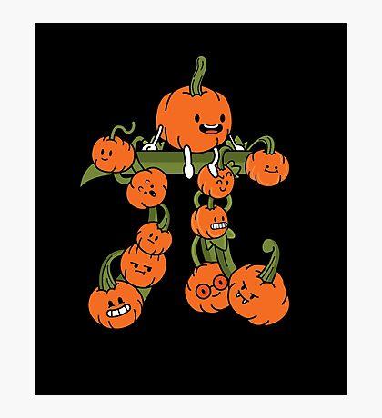 Pumpkin Pi Photographic Print