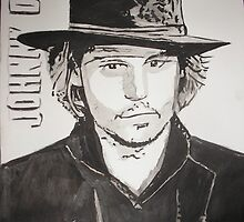 Johnny Depp by Colin  Laing
