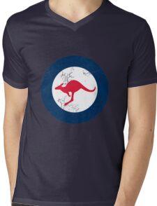 Military Roundels - RAAF - Royal Australian Air Force Mens V-Neck T-Shirt