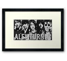 Alex Turner evolution Framed Print