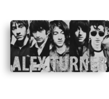 Alex Turner evolution Canvas Print