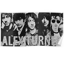 Alex Turner evolution Poster