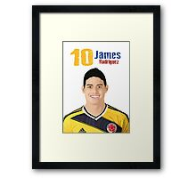 James Rodriguez Framed Print