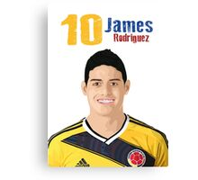 James Rodriguez Canvas Print