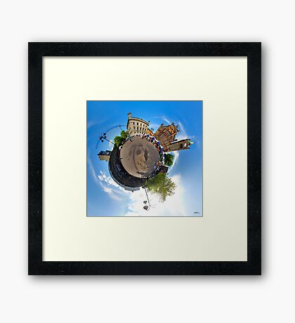 Walled City Market, Guildhall Square, Derry Framed Print