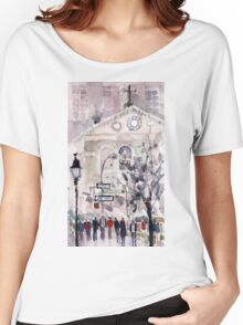 Washington Square Park, New York City Women's Relaxed Fit T-Shirt
