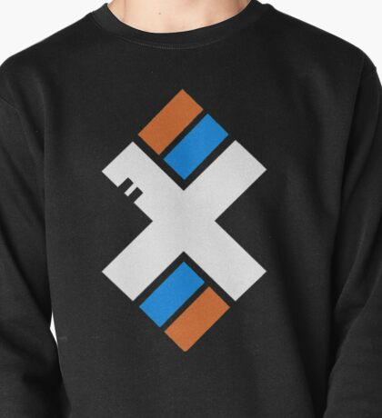 X dashes Pullover