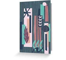 Atomic Holiday Two Greeting Card
