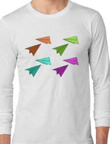 Paper Planes Long Sleeve T-Shirt