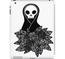 Reaper Bouquet ~ Grey scale iPad Case/Skin