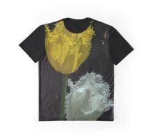 Yellow and White crinkle edged Tulips at Tesselaar Victoria Australia 20160923 7586 Graphic T-Shirt