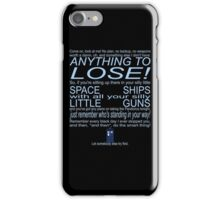 The Doctor's Speech at the Pandorica iPhone Case/Skin