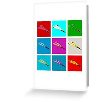 Paper Airplane 22 Greeting Card