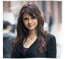 Great Nina Dobrev The Vampire Diaries Poster