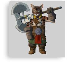Grog Cat Canvas Print