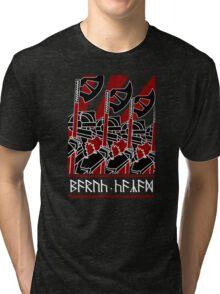 Dwarven Constructivism! Tri-blend T-Shirt