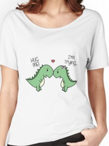 Dino Love! (Hug Me!) Women's Relaxed Fit T-Shirt