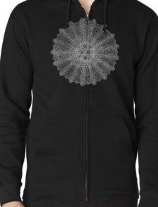 Mandala (inverted) Zipped Hoodie