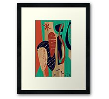 Atomic Joy Two Framed Print