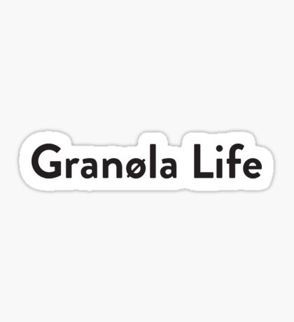 Granola Sticker