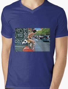 ESCAPE FROM NEW YORK TARZAN Mens V-Neck T-Shirt