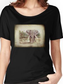 Africa's Giant Women's Relaxed Fit T-Shirt