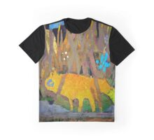 Cat Walking #1a Graphic T-Shirt