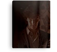Sherlock Graphic Canvas Print