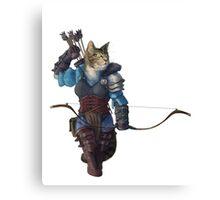 Vex'ahlia the cat Canvas Print
