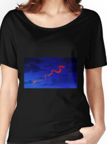 Chinese dragon. Women's Relaxed Fit T-Shirt