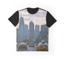 New York City Sunset Graphic T-Shirt