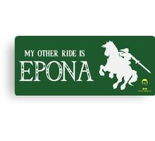 My Other Ride is Epona Canvas Print