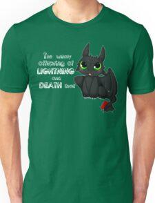 Toothless - Night fury quote Unisex T-Shirt