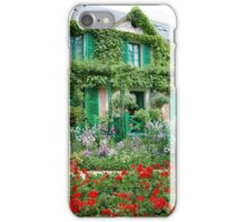 The House at Giverny iPhone Case/Skin