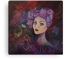 Mulberry Crush Canvas Print